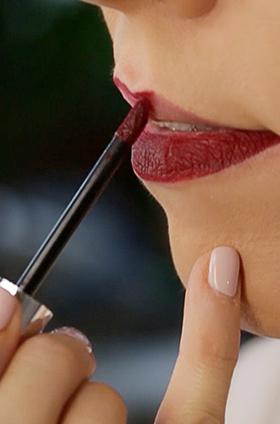 Truco para labios más voluptuosos