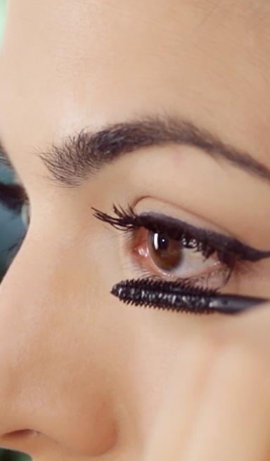 Maquillaje de ojos sencillo cat eye perfecto