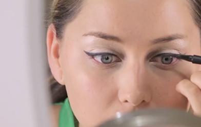 Tips para sellar un delineado cat eye