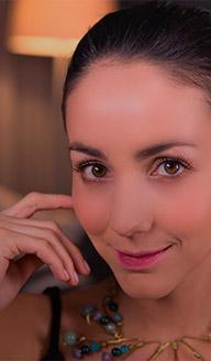 Maquillaje para fiesta: Efecto labios mordidos