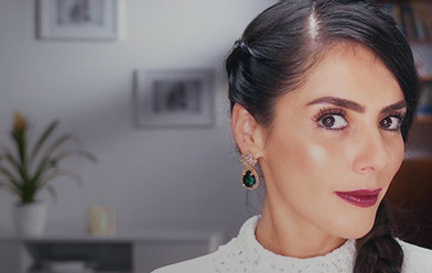 Maquillaje para cena: tips para rizar las pestañas