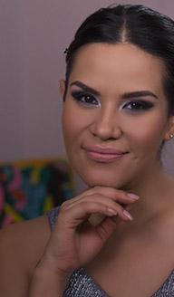 Año Nuevo: maquillaje ojos plateado intenso