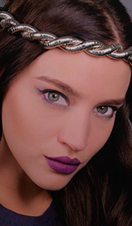 Maquillaje para Halloween: Rostro dramático