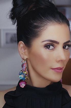 Maquillaje de fiesta ideal para piel clara